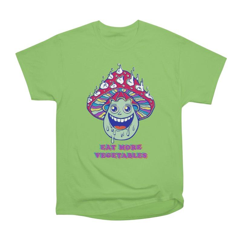 Eat more Vegetables! Women's Heavyweight Unisex T-Shirt by badbasilisk's Artist Shop