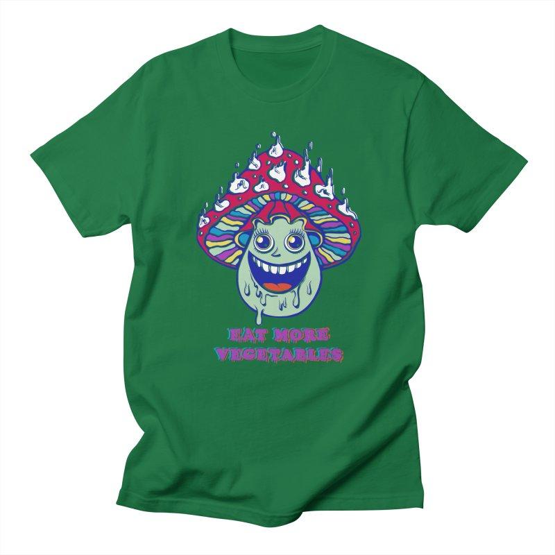 Eat more Vegetables! Men's T-shirt by badbasilisk's Artist Shop