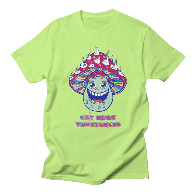 Eat more Vegetables! Women's Unisex T-Shirt by badbasilisk's Artist Shop