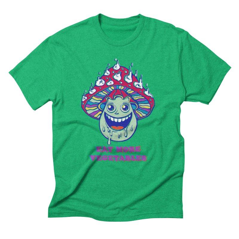 Eat more Vegetables! Men's Triblend T-shirt by badbasilisk's Artist Shop