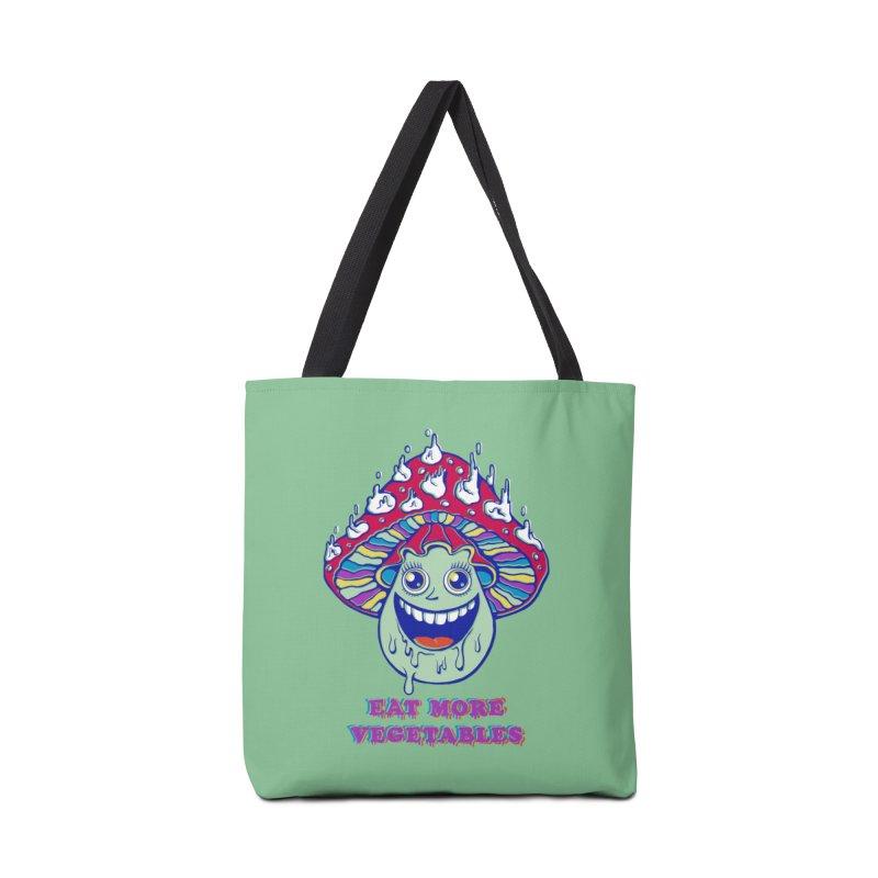 Eat more Vegetables! Accessories Bag by badbasilisk's Artist Shop