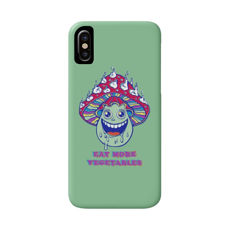 Eat more Vegetables! Accessories Phone Case by badbasilisk's Artist Shop