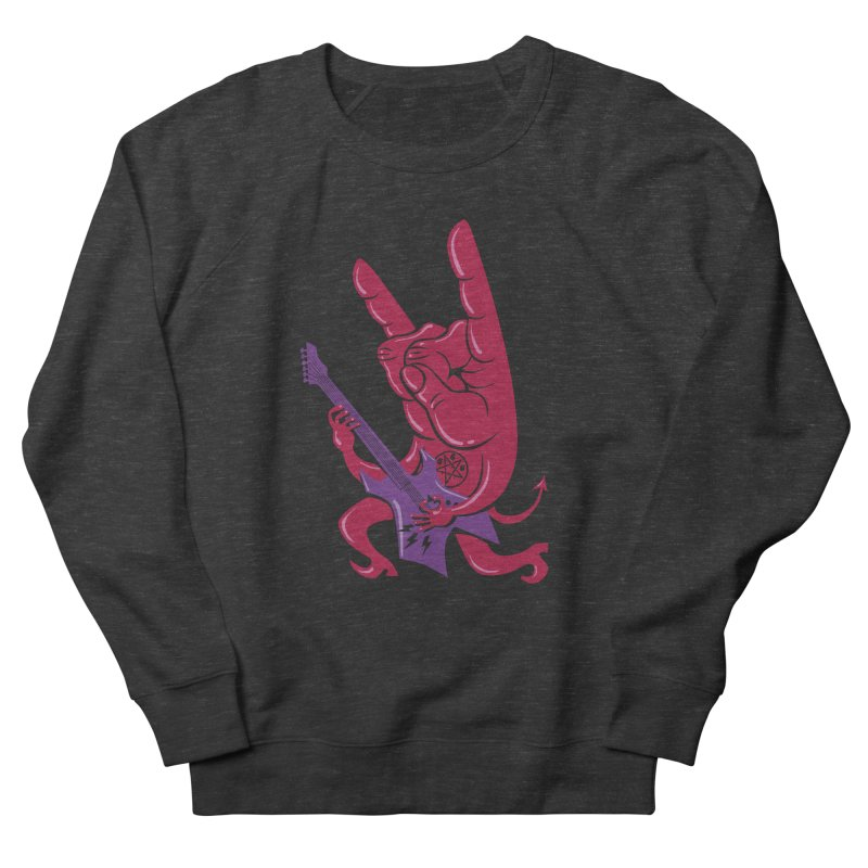 Devil's Rock! Men's Sweatshirt by badbasilisk's Artist Shop