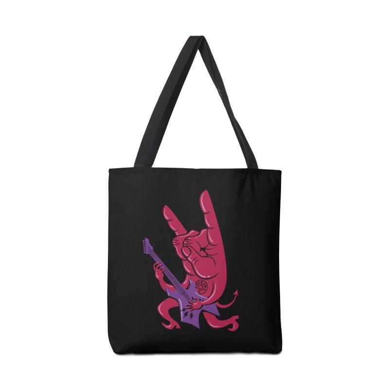 Devil's Rock! Accessories Bag by badbasilisk's Artist Shop