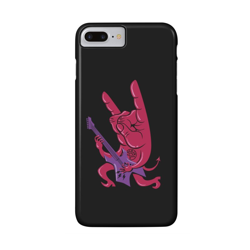 Devil's Rock! Accessories Phone Case by badbasilisk's Artist Shop