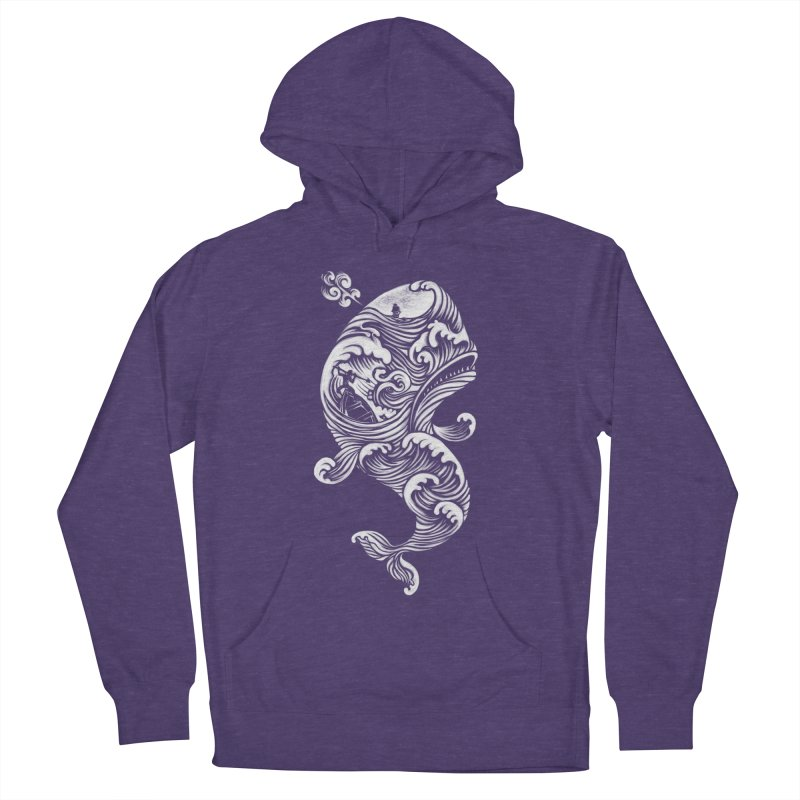 The White Whale Women's Pullover Hoody by badbasilisk's Artist Shop