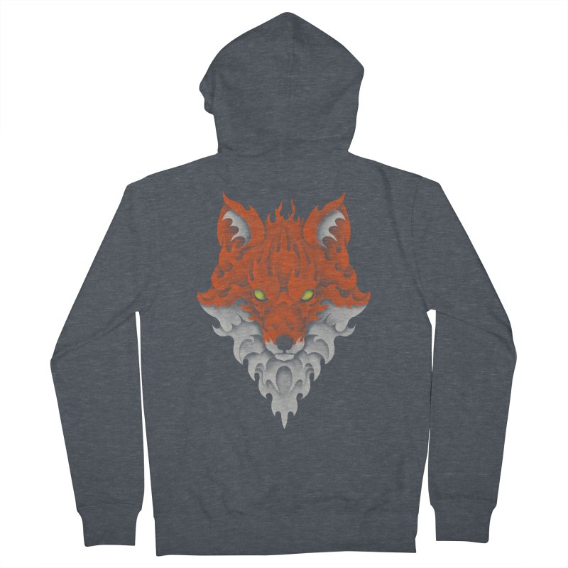 Firefox Women's Zip-Up Hoody by badbasilisk's Artist Shop