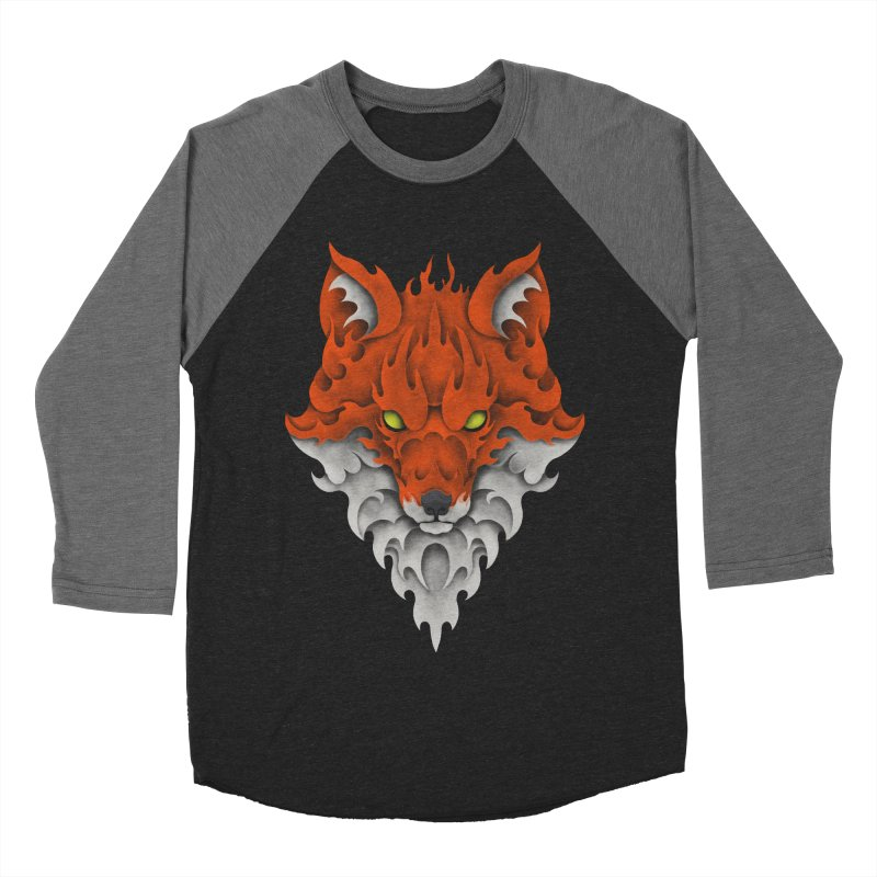 Firefox Women's Baseball Triblend T-Shirt by badbasilisk's Artist Shop