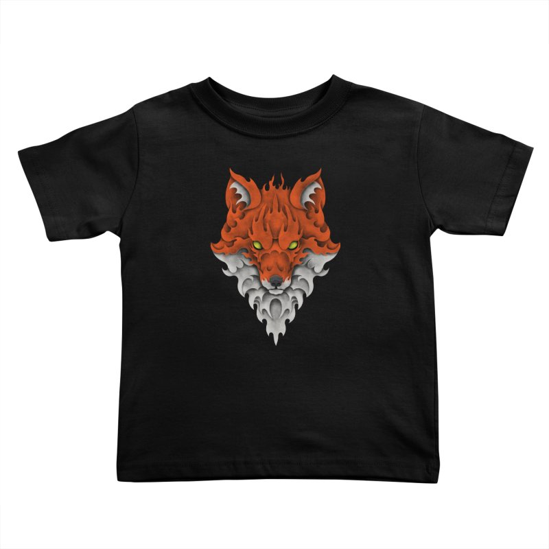 Firefox Kids Toddler T-Shirt by badbasilisk's Artist Shop