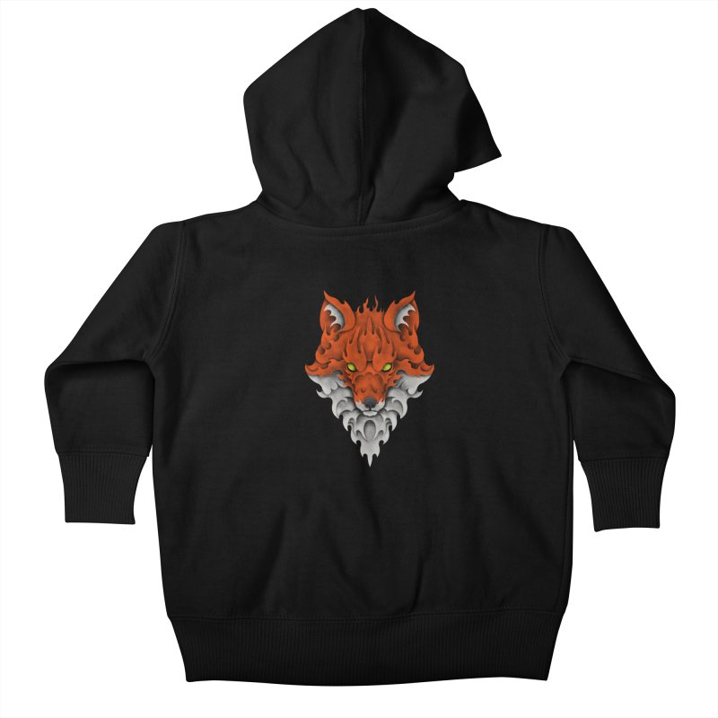 Firefox Kids Baby Zip-Up Hoody by badbasilisk's Artist Shop