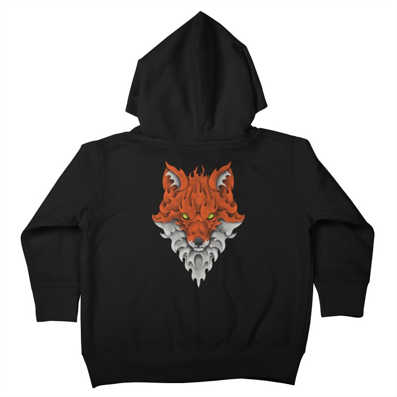 Firefox Kids Toddler Zip-Up Hoody by badbasilisk's Artist Shop
