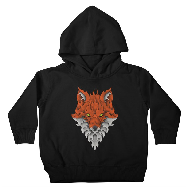 Firefox Kids Toddler Pullover Hoody by badbasilisk's Artist Shop