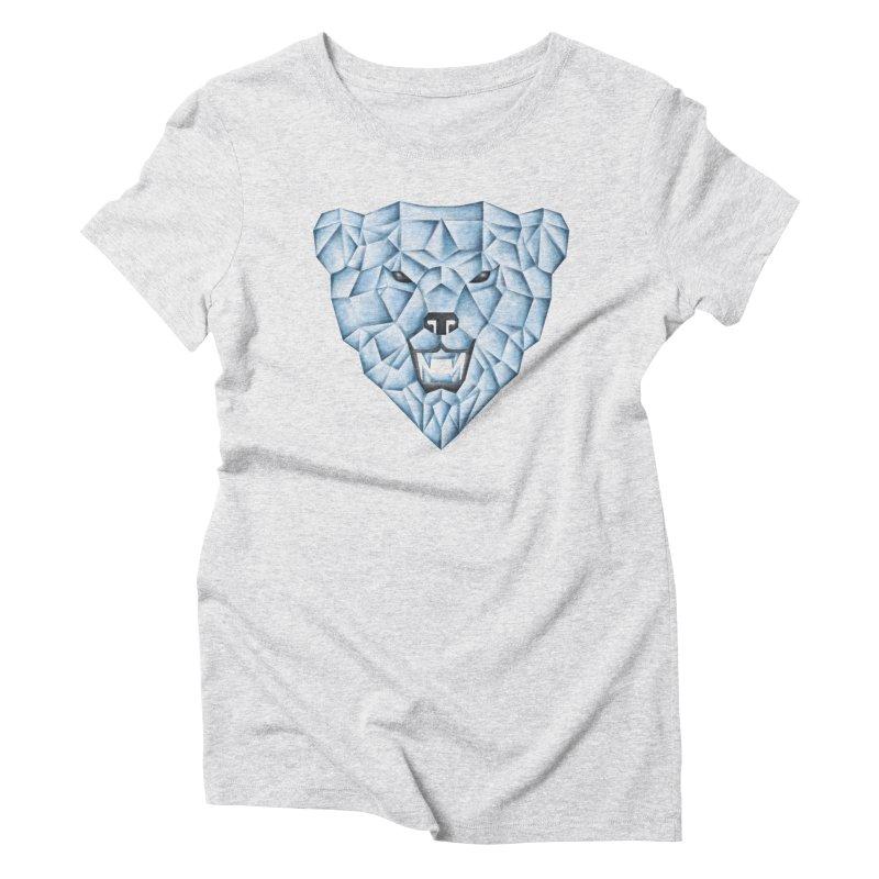 Ice Bear Women's Triblend T-Shirt by badbasilisk's Artist Shop
