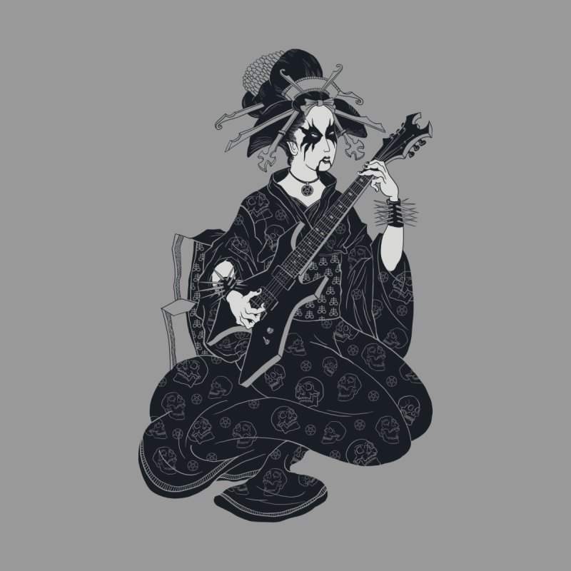 Black Metal Geisha by badbasilisk's Artist Shop