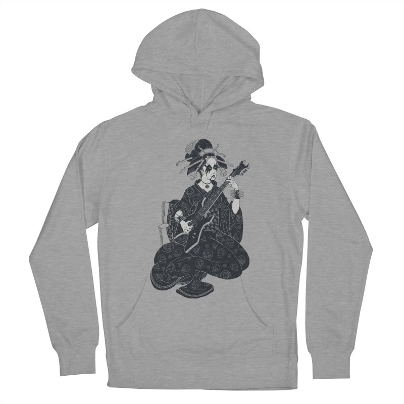 Black Metal Geisha Men's Pullover Hoody by badbasilisk's Artist Shop