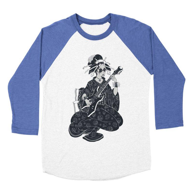 Black Metal Geisha Women's Baseball Triblend T-Shirt by badbasilisk's Artist Shop