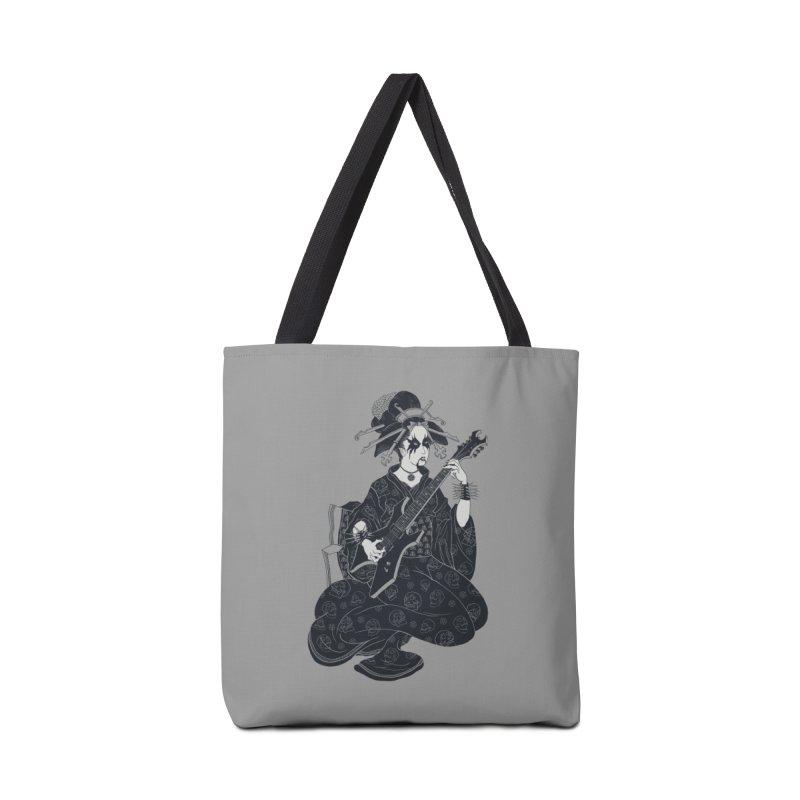 Black Metal Geisha Accessories Bag by badbasilisk's Artist Shop