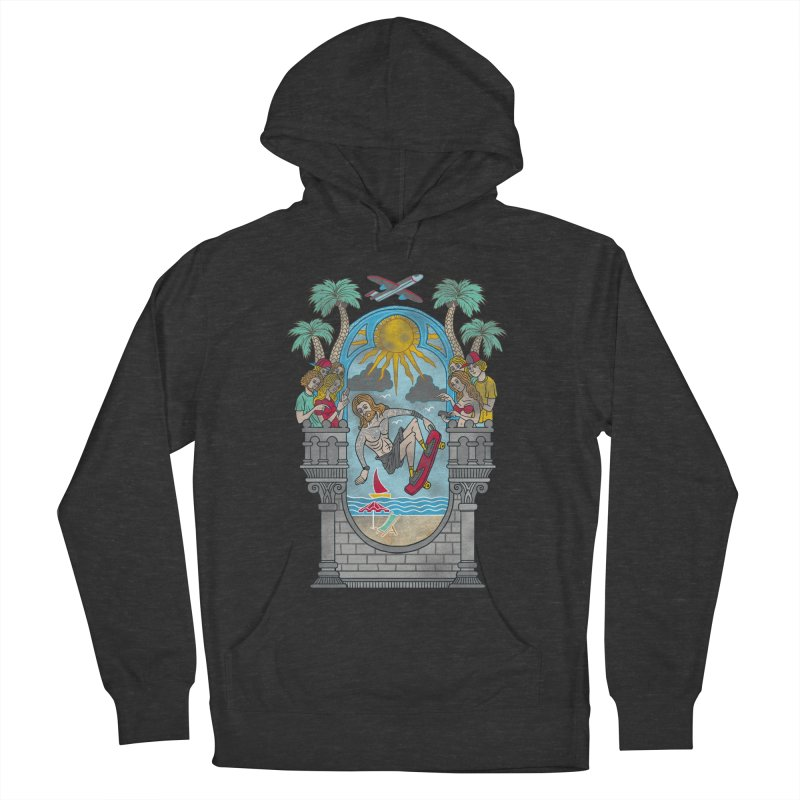 Skater God Men's Pullover Hoody by badbasilisk's Artist Shop