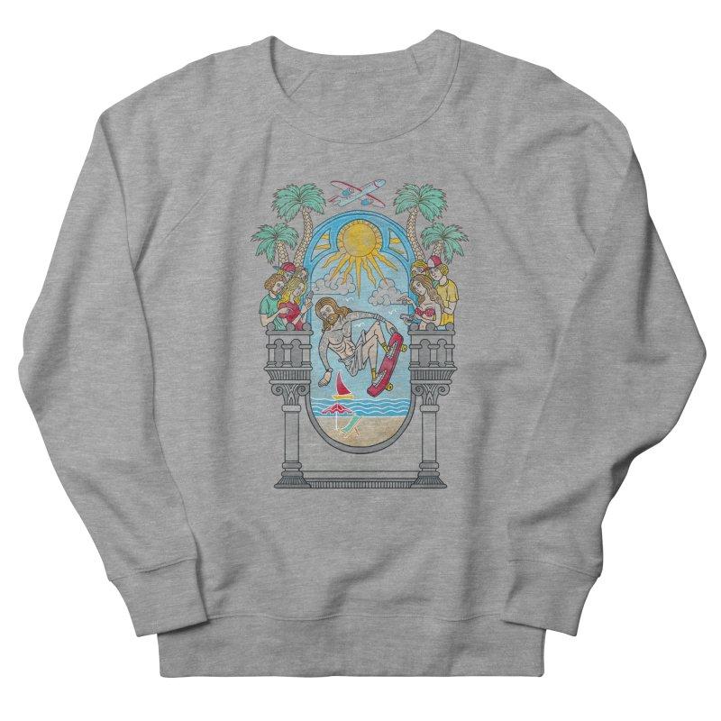 Skater God Men's Sweatshirt by badbasilisk's Artist Shop