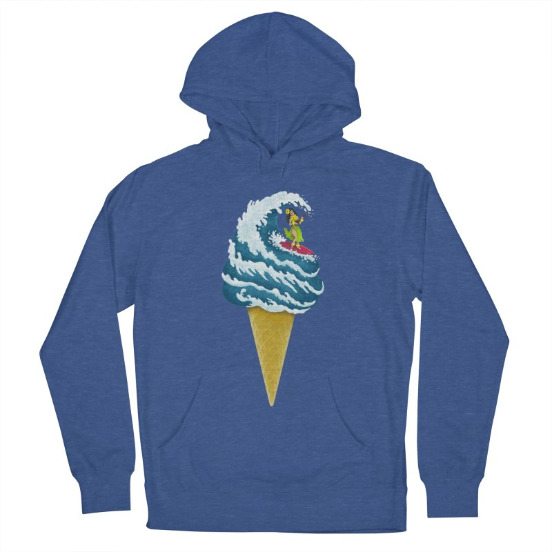 Perfect Wave Women's Pullover Hoody by badbasilisk's Artist Shop