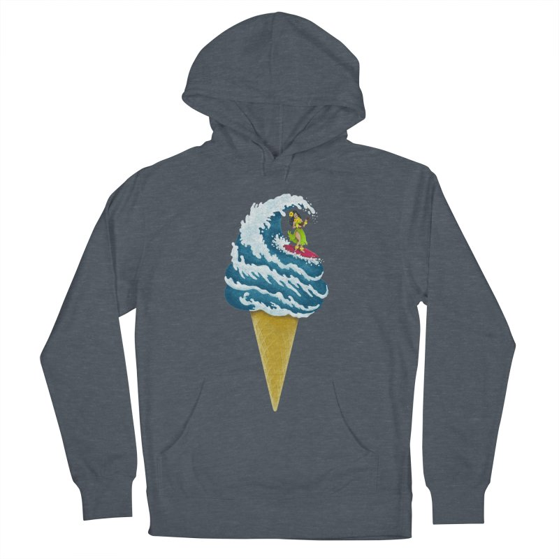 Perfect Wave Men's Pullover Hoody by badbasilisk's Artist Shop
