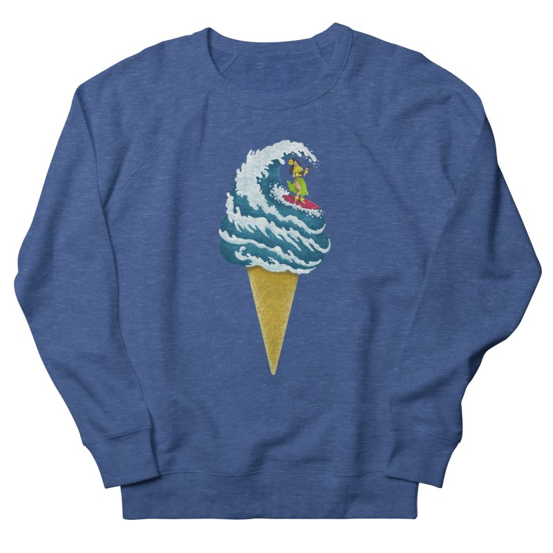 Perfect Wave Men's Sweatshirt by badbasilisk's Artist Shop
