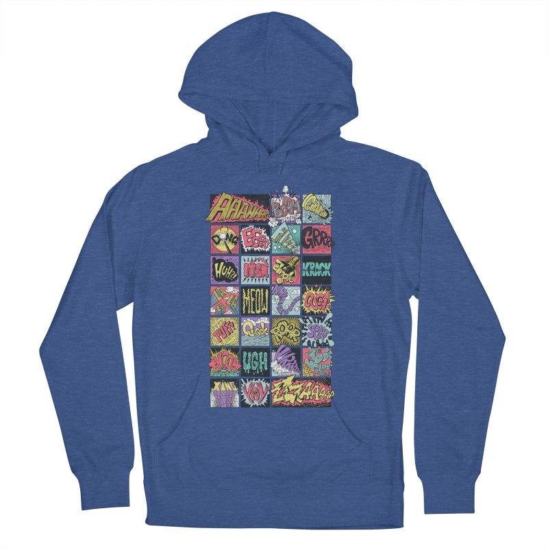 Crash Boom Bang Men's Pullover Hoody by badbasilisk's Artist Shop