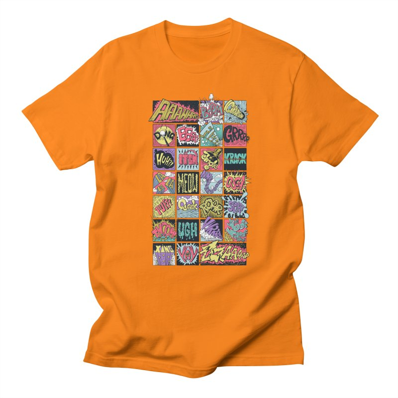 Crash Boom Bang Men's T-shirt by badbasilisk's Artist Shop