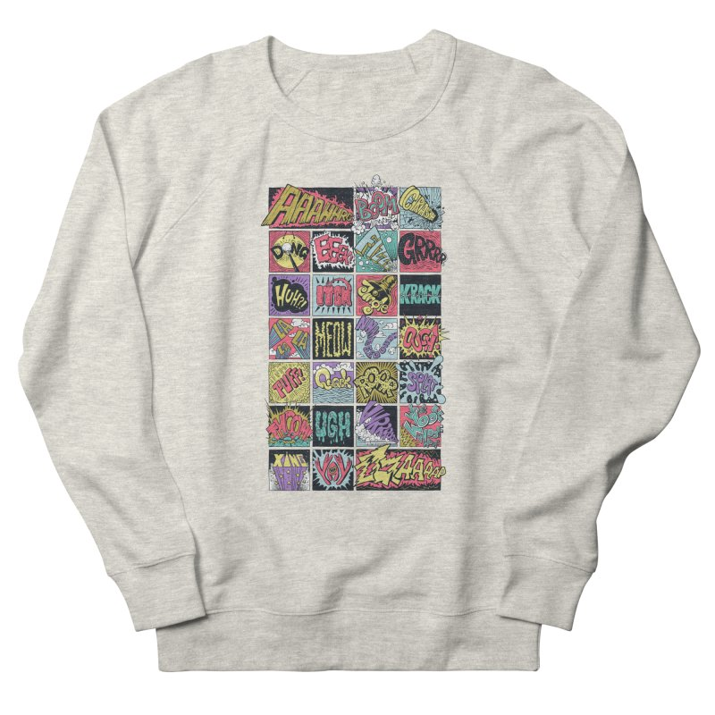 Crash Boom Bang Women's Sweatshirt by badbasilisk's Artist Shop
