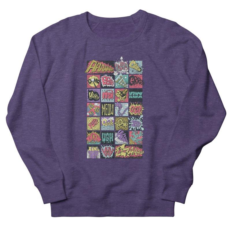 Crash Boom Bang Men's Sweatshirt by badbasilisk's Artist Shop