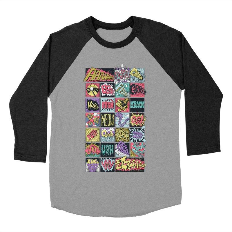 Crash Boom Bang Men's Baseball Triblend T-Shirt by badbasilisk's Artist Shop