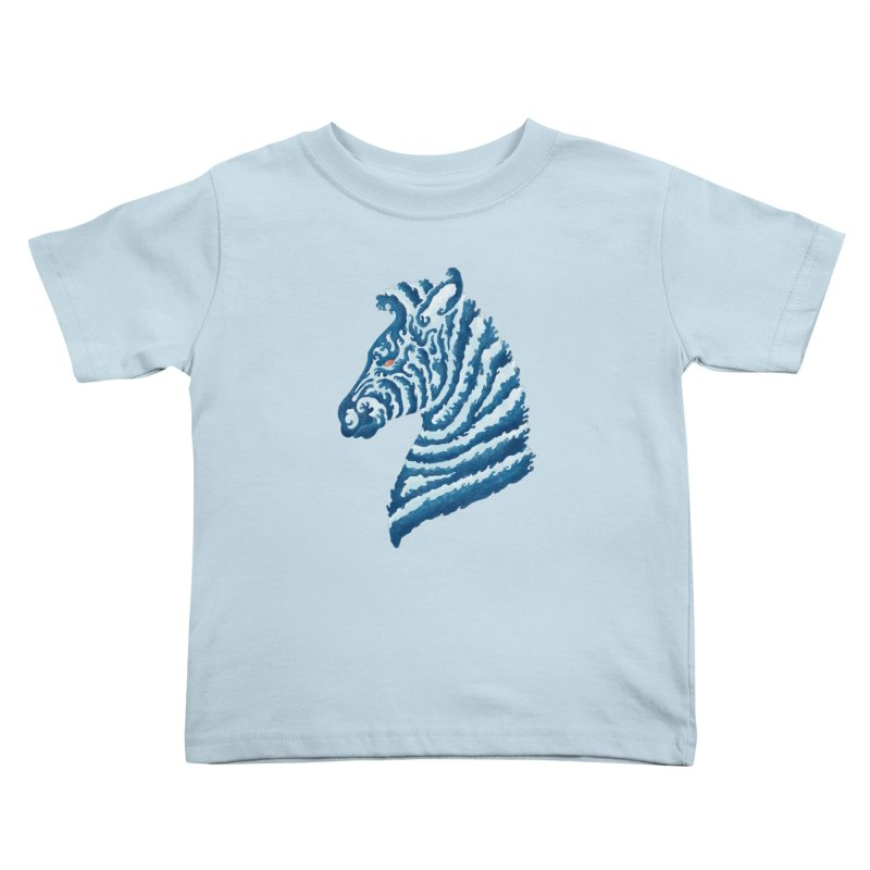 SEAbra Kids Toddler T-Shirt by badbasilisk's Artist Shop
