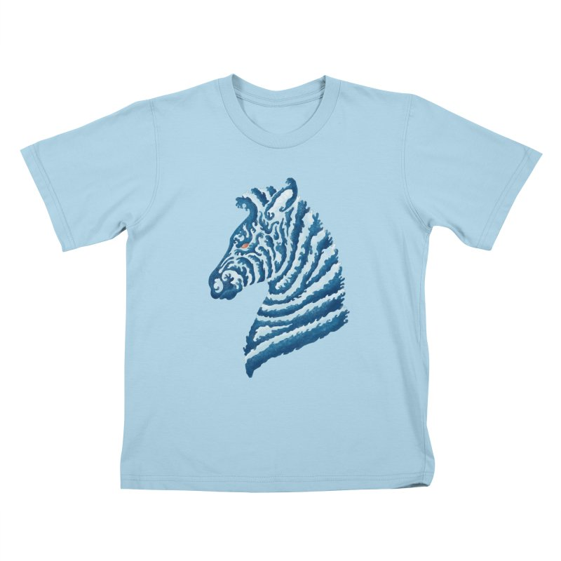 SEAbra Kids T-shirt by badbasilisk's Artist Shop