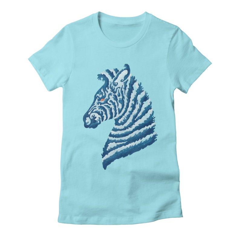 SEAbra Women's Fitted T-Shirt by badbasilisk's Artist Shop