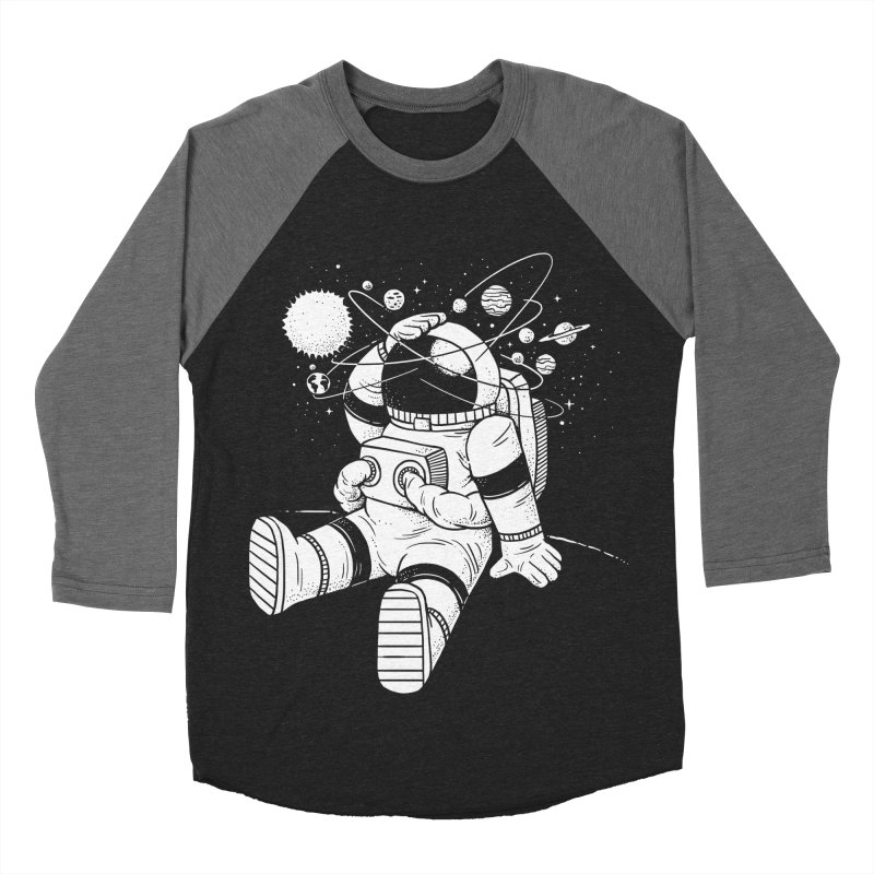 Too much Space Men's Baseball Triblend Longsleeve T-Shirt by badbasilisk's Artist Shop