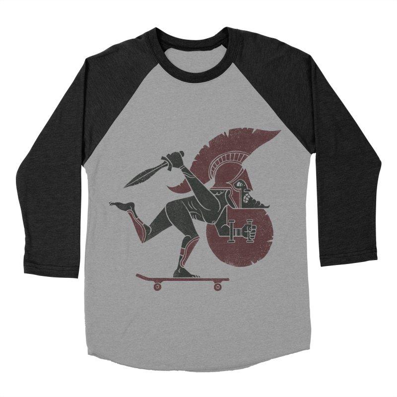This is Skataaaaaahhhhhh!! Men's Baseball Triblend Longsleeve T-Shirt by badbasilisk's Artist Shop
