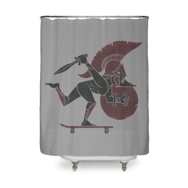 This is Skataaaaaahhhhhh!! Home Shower Curtain by badbasilisk's Artist Shop