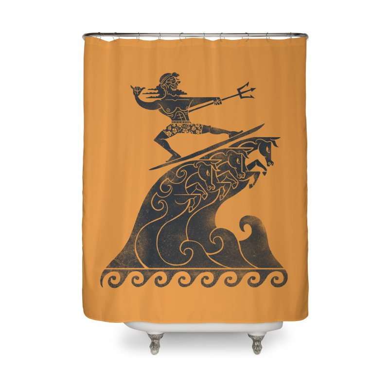 Broseidon Home Shower Curtain by badbasilisk's Artist Shop