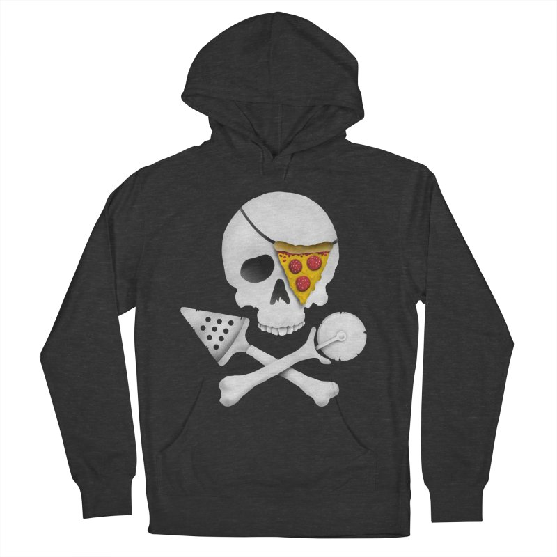 Pizza Raider Women's Pullover Hoody by badbasilisk's Artist Shop