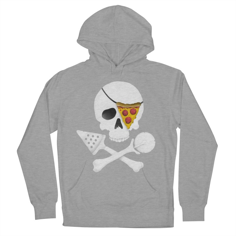 Pizza Raider Men's Pullover Hoody by badbasilisk's Artist Shop