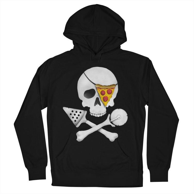 Pizza Raider Men's Pullover Hoody by badbasilisk's Artist Shop