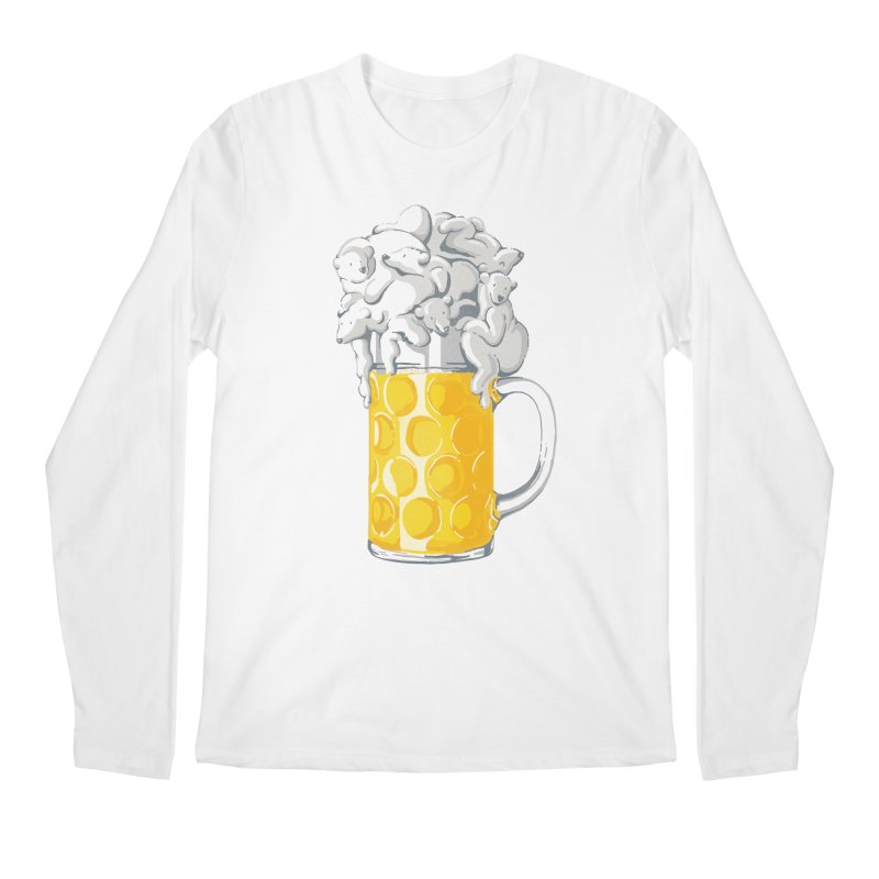 Ice Cold Bee(a)rs Men's Longsleeve T-Shirt by badbasilisk's Artist Shop