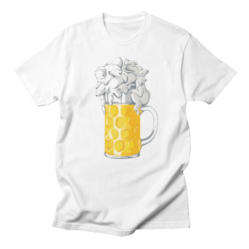 Ice Cold Bee(a)rs Men's T-shirt by badbasilisk's Artist Shop