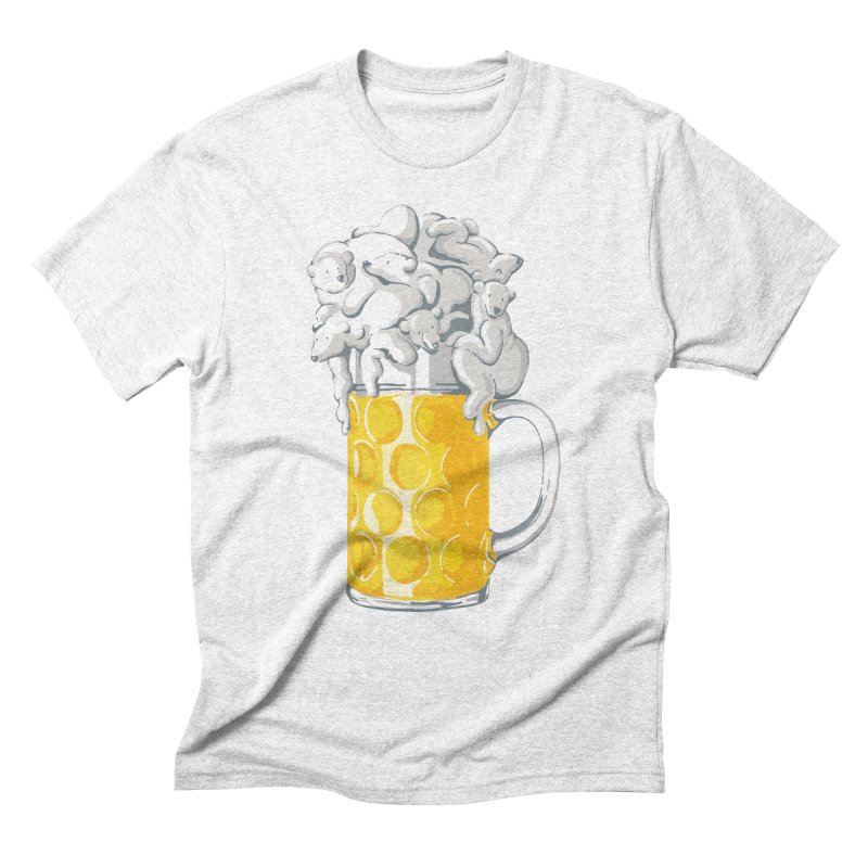Ice Cold Bee(a)rs Men's Triblend T-shirt by badbasilisk's Artist Shop
