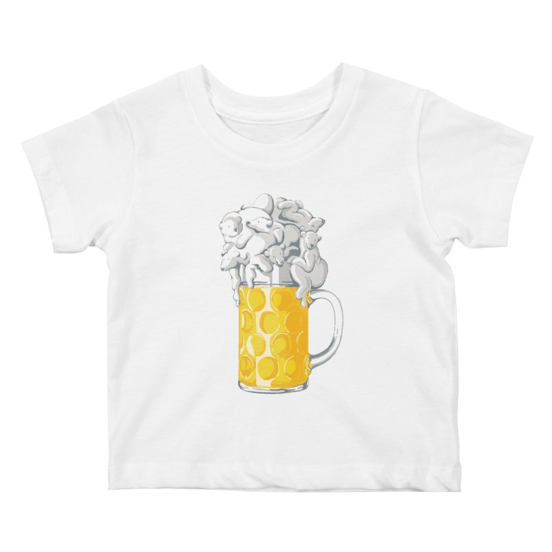 Ice Cold Bee(a)rs Kids Baby T-Shirt by badbasilisk's Artist Shop