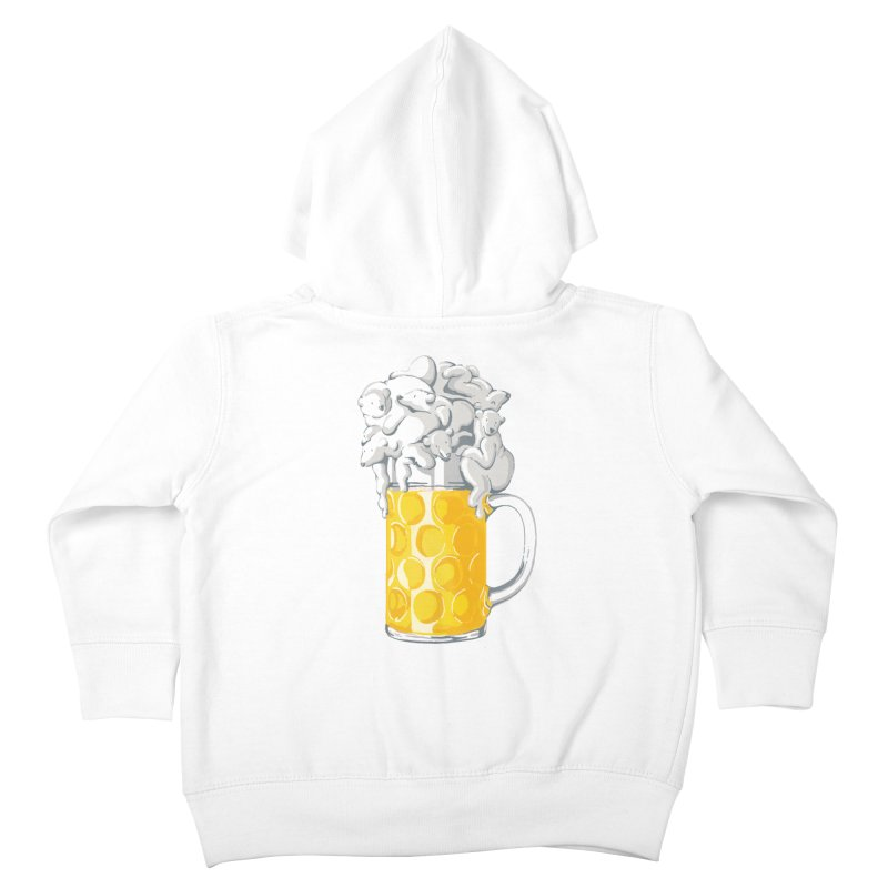Ice Cold Bee(a)rs Kids Toddler Zip-Up Hoody by badbasilisk's Artist Shop