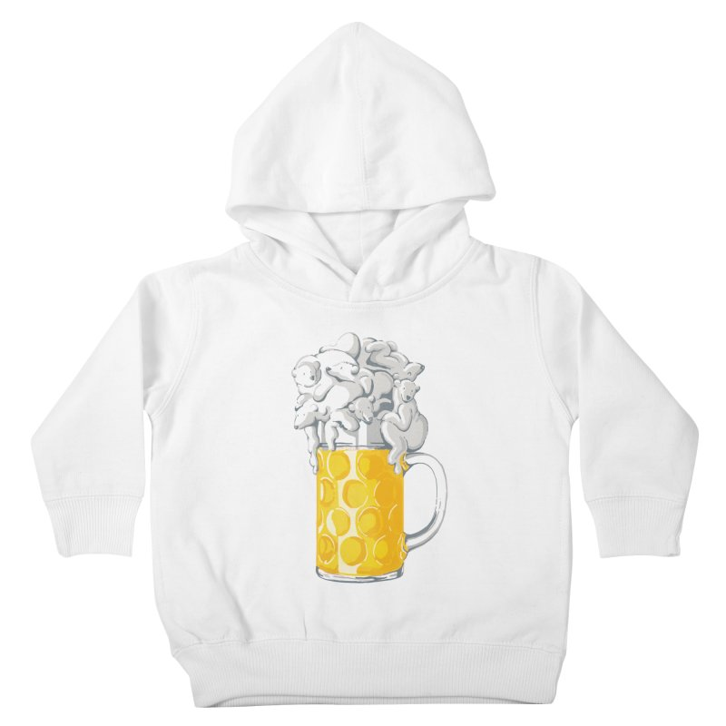 Ice Cold Bee(a)rs Kids Toddler Pullover Hoody by badbasilisk's Artist Shop