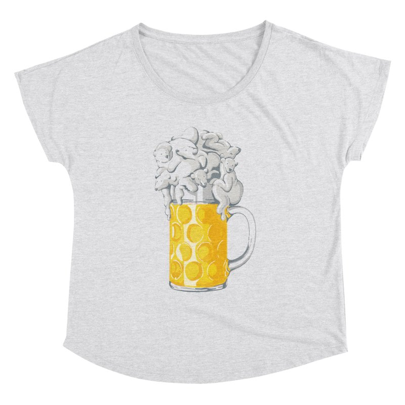 Ice Cold Bee(a)rs Women's Dolman by badbasilisk's Artist Shop