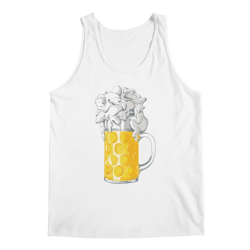 Ice Cold Bee(a)rs Men's Tank by badbasilisk's Artist Shop