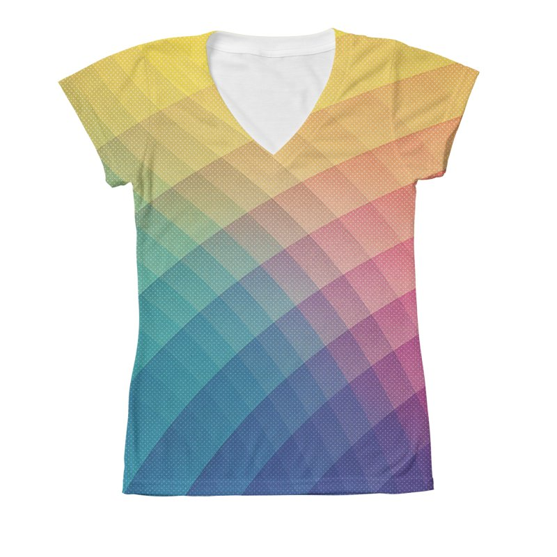 Spectrum Bomb! Fruity Fresh (HDR Rainbow Colorful Experimental Pattern) Women's  by Badbugs's Artist Shop
